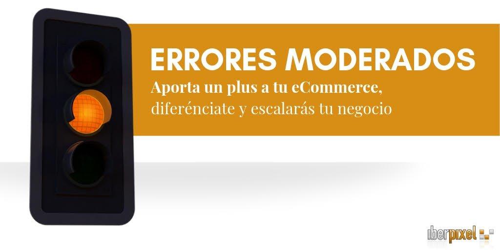 errores técnicos tienda online