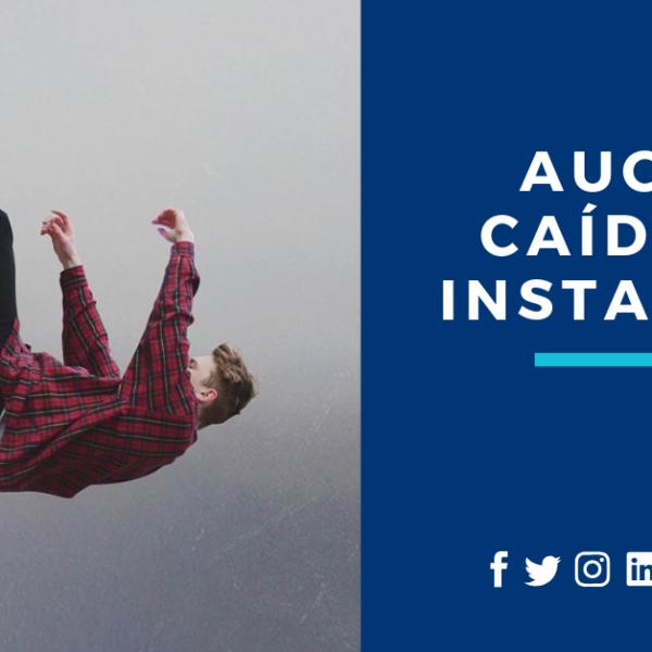 auge y caída Instagram