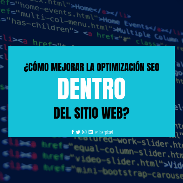 Optimización SEO web